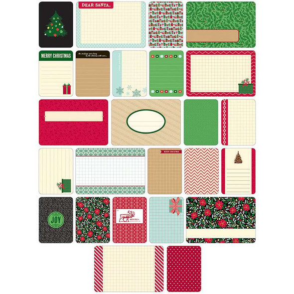 Project Life Themed Cards 40/Pkg Christmas