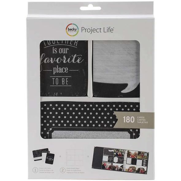 Project Life Card Kit 180/Pkg-Good Times