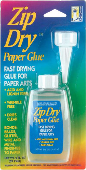 Zip Dry Paper Glue 2 Ounce