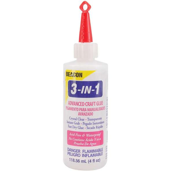 3-In-1 Advanced Craft Glue 4oz