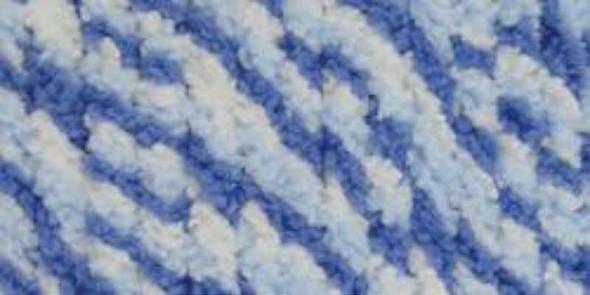 Baby Blanket Twists Big Ball Yarn Blue Twist