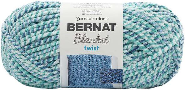 Bernat Blanket Twist Yarn Making Waves
