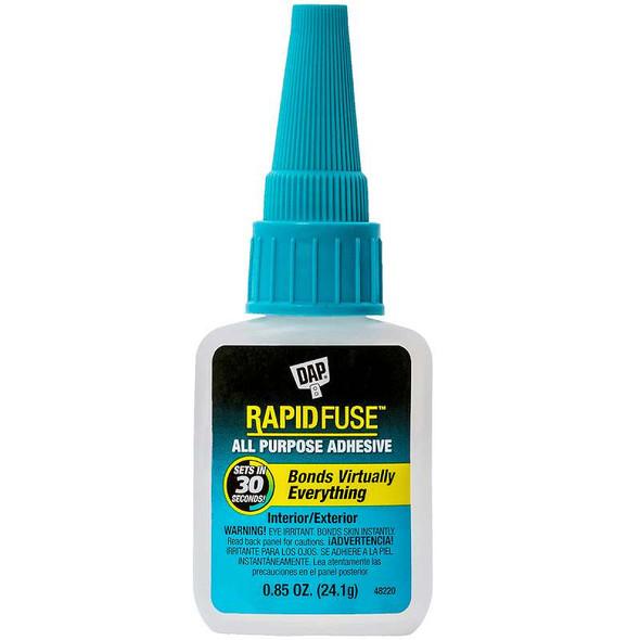 DAP Rapid Fuse All Purpose Glue .85oz Clear