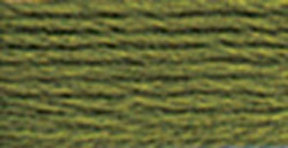 DMC Pearl Cotton Skein Size 3 16.4yd Dark Moss Green