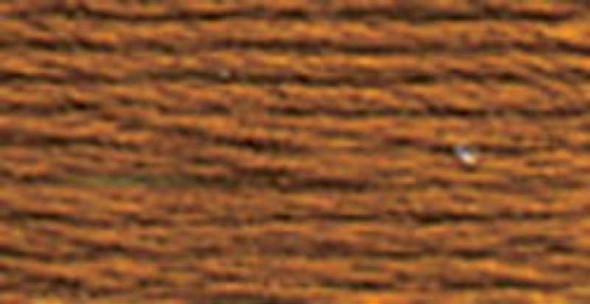 DMC Satin Floss 8.7yd Sepia Brown