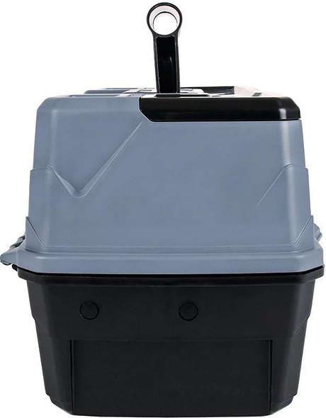 "ArtBin Lift Tray Box W/3 Trays & Quick Access Lid Storage 9""X15.75""X8.375"", Black & Gray"