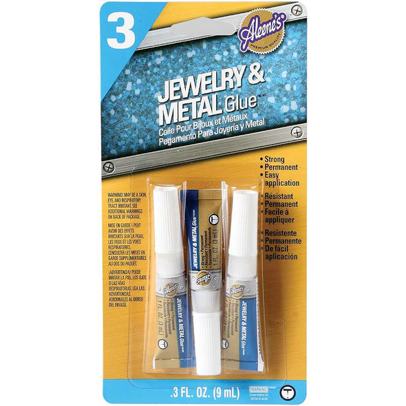 Aleene's Jewelry & Metal Glue 3/Pkg .1oz