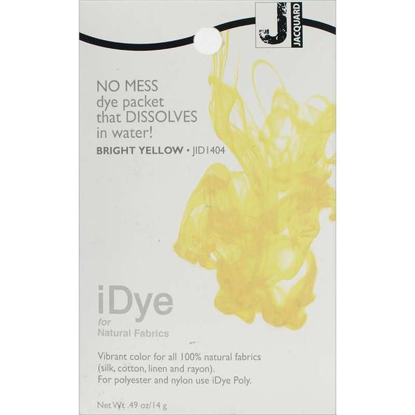 Jacquard iDye Fabric Dye 14g Bright Yellow