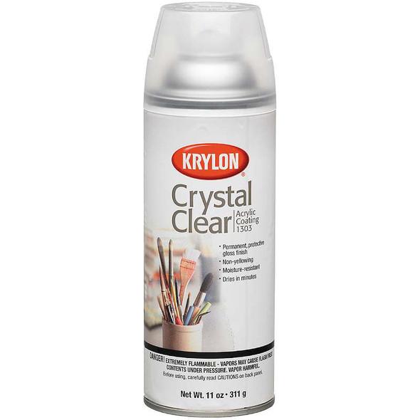 Crystal Clear Acrylic Coating Aerosol Spray 11oz
