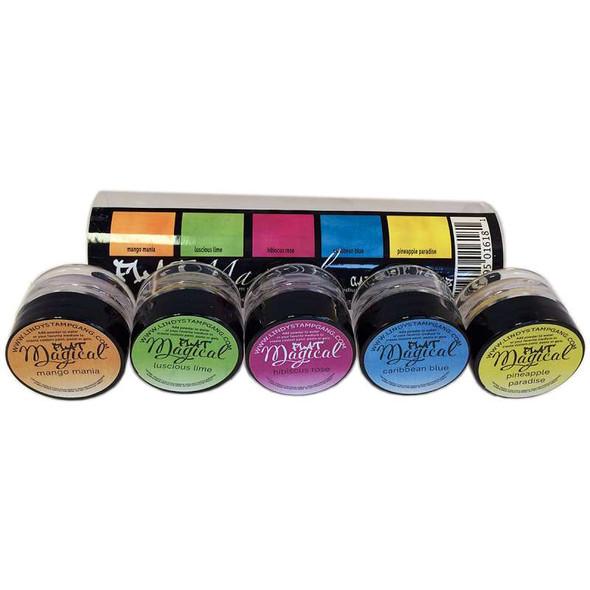 Lindy's Stamp Gang Flat Magicals .25oz 5/Pkg Caribbean Cruise