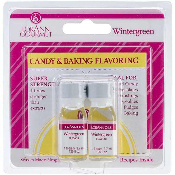 Candy & Baking Flavoring .125oz 2/Pkg Wintergreen