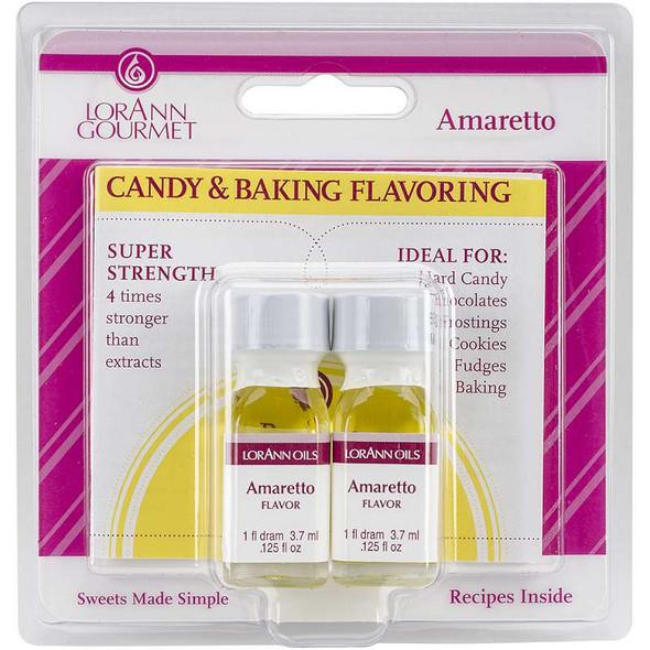 Candy & Baking Flavoring .125oz 2/Pkg Amaretto