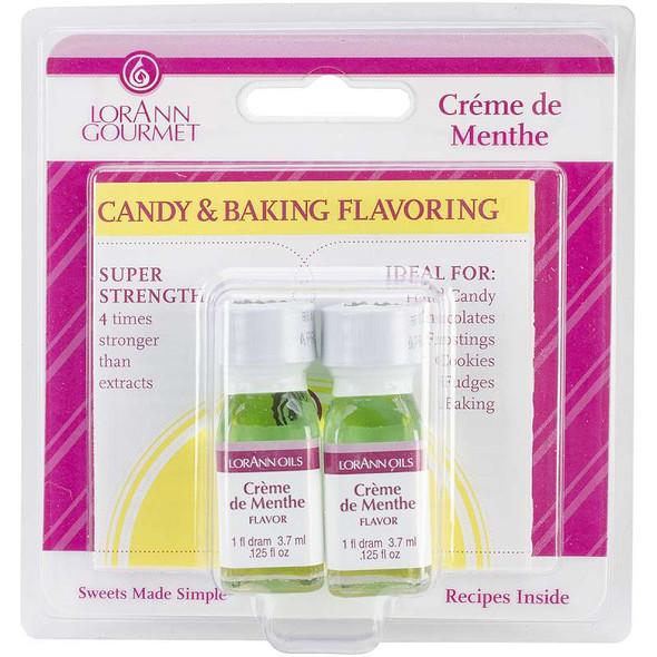 Candy & Baking Flavoring .125oz 2/Pkg Creme De Menthe