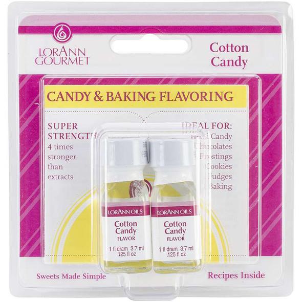 Candy & Baking Flavoring .125oz 2/Pkg Cotton Candy