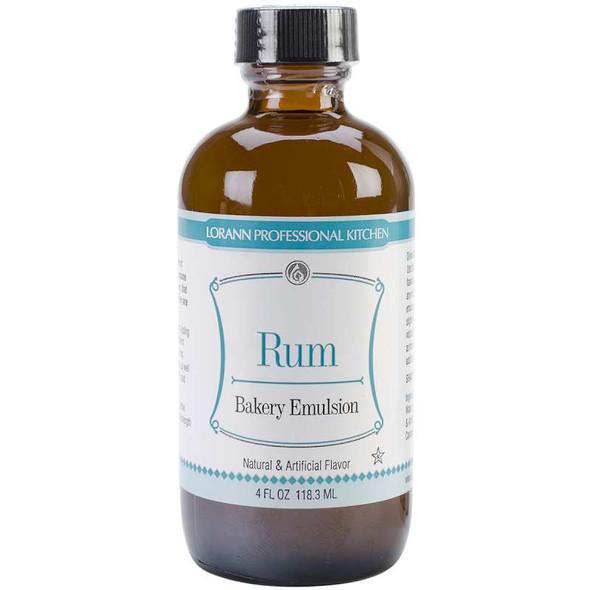 Bakery Emulsions Natural & Artificial Flavor 4oz Rum