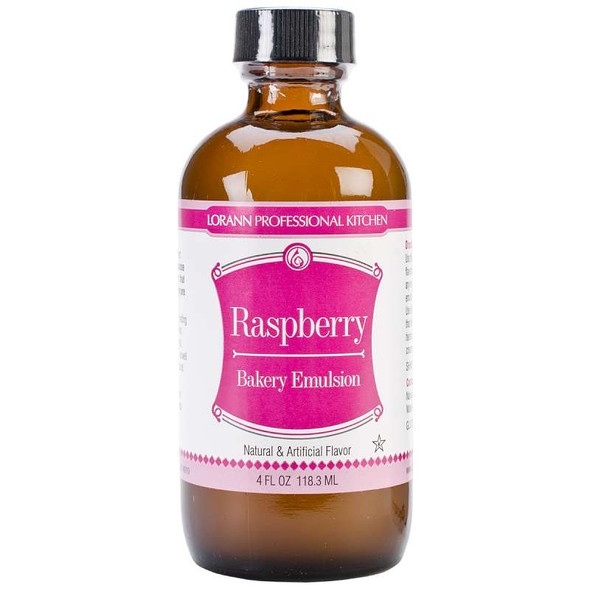 Bakery Emulsions Natural & Artificial Flavor 4oz Raspberry
