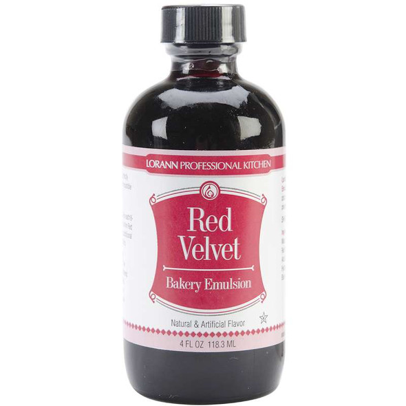 Bakery Emulsions Natural & Artificial Flavor 4oz Red Velvet Cake