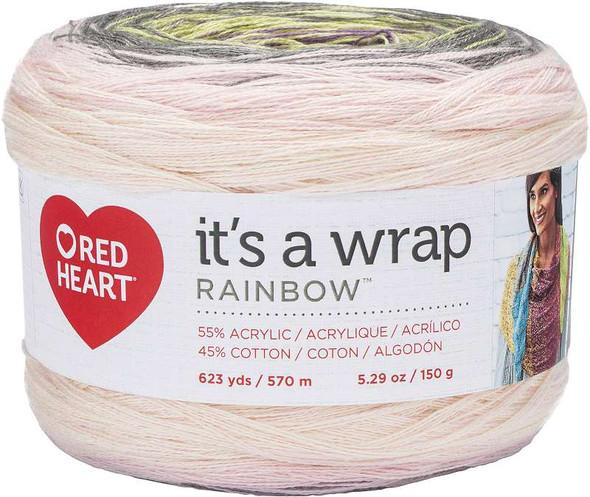 Red Heart It's A Wrap Rainbow Yarn Whisper