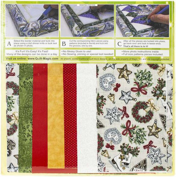 Quilt-Magic No Sew Wall Hanging Kit Christmas Bells