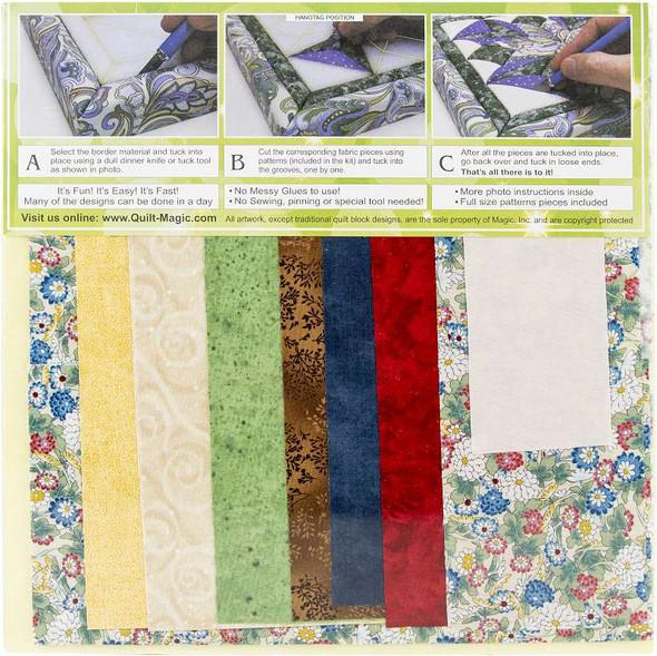 Quilt-Magic No Sew Wall Hanging Kit Kids At Heart