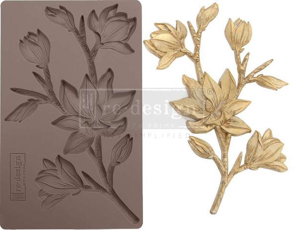 "Prima Marketing Re-Design Mould 5""X8""X8mm Forest Flora"