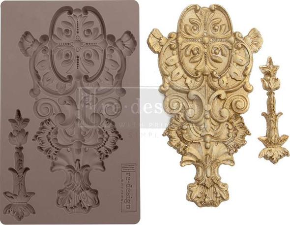 "Prima Marketing Re-Design Mould 5""X8""X8mm Garden Emblem"