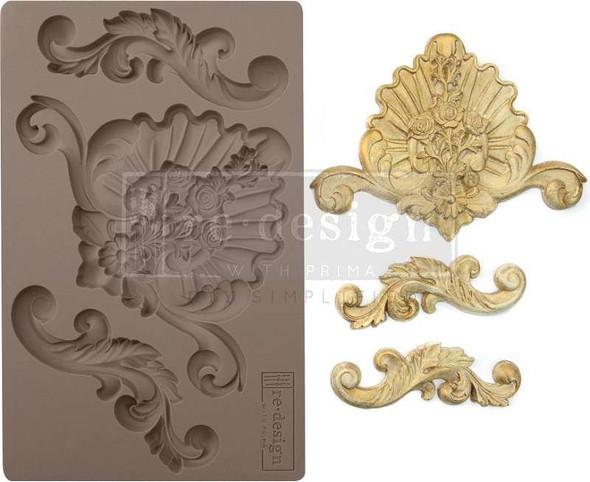 "Prima Marketing Re-Design Mould 5""X8""X8mm English Garden"