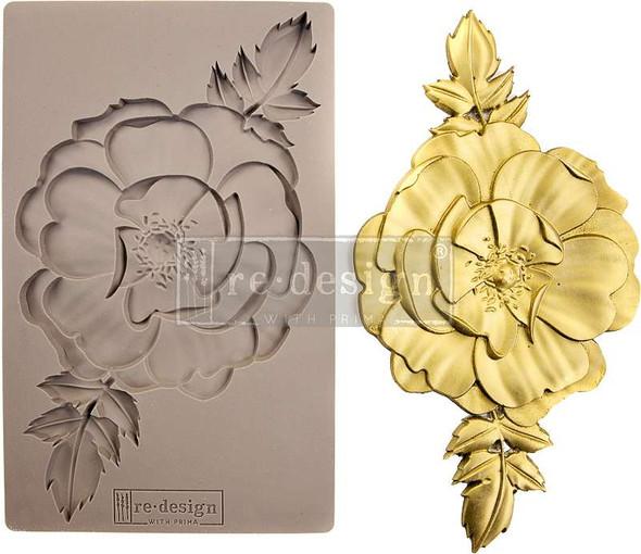 "Prima Marketing Re-Design Mould 5""X8""X8mm In Bloom"