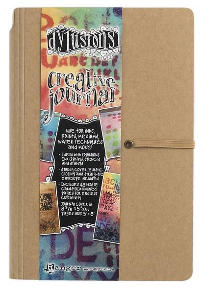 "Dyan Reaveley's Dylusions Creative Journal Kraft 8.375""X5.625"""