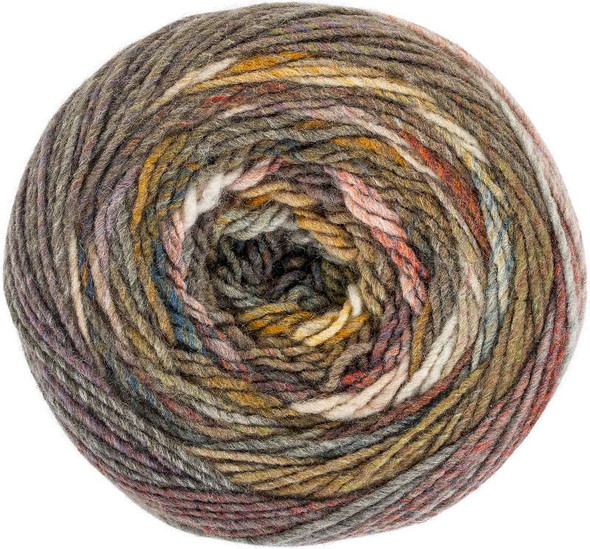 Red Heart Yarn Roll With It Melange Theater
