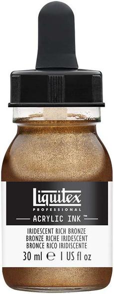 Liquitex Ink 30ml Iridescent Rich Bronze