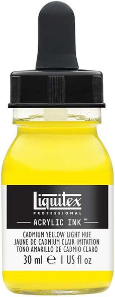 Liquitex Ink 30ml Cadmium Yellow Light Hue