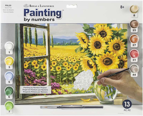 """Paint By Number Kit 15.375""""X11.25"""" Harvest Time"""