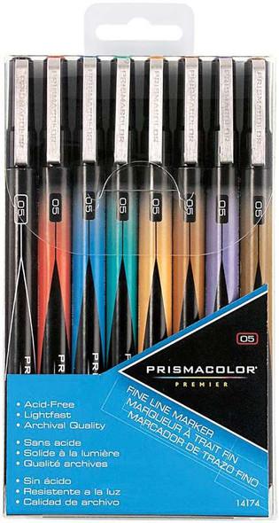Prismacolor Premier Fine Point Markers 8/Pkg Assorted Colors