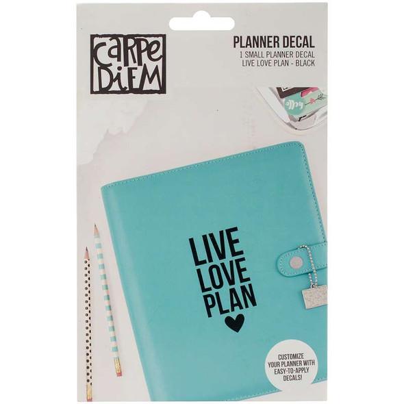 Carpe Diem Small Planner Decals Live, Love, Plan