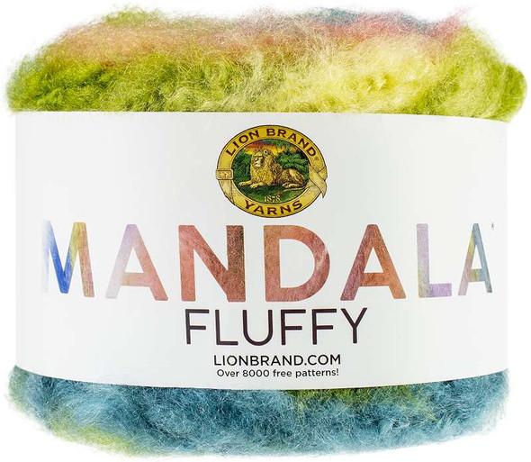 Lion Brand Mandala Fluffy Yarn Anemone