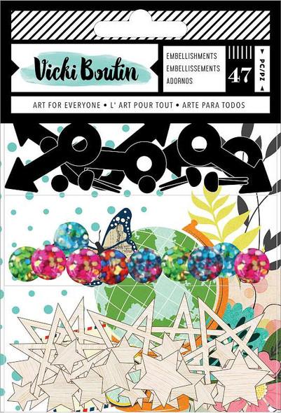 Vicki Boutin Let's Wander Embellishment Pack