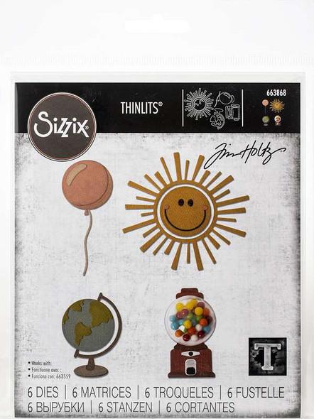 Sizzix Thinlits Dies By Tim Holtz Circle Play