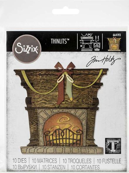 Sizzix Thinlits Dies By Tim Holtz Fireside