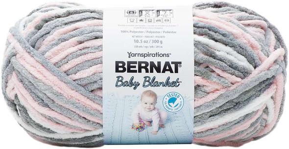 Bernat Baby Blanket Big Ball Yarn Baby Grays