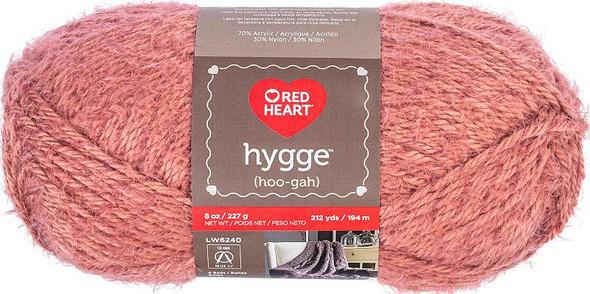 Red Heart Hygge Charm Yarn Rust