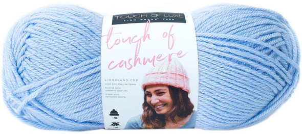 Lion Brand Touch Of Cashmere Yarn Illusion Blue
