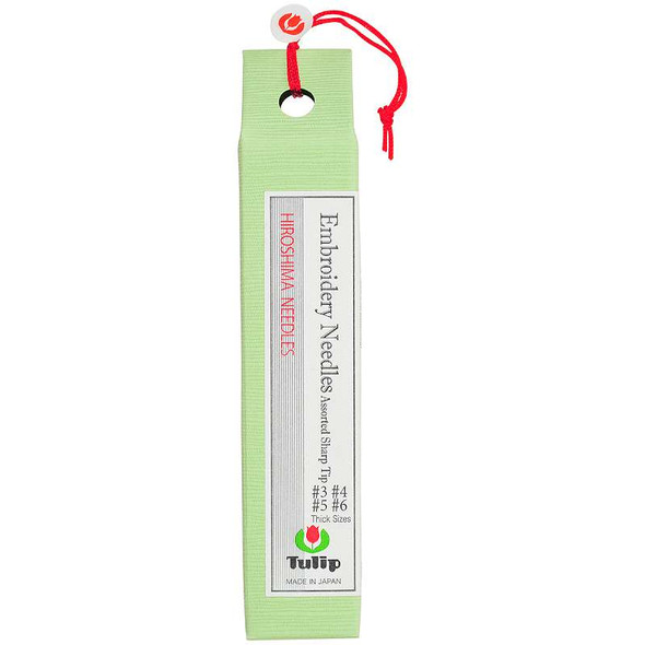 Tulip Embroidery Needles 8/Pkg Assorted Thick