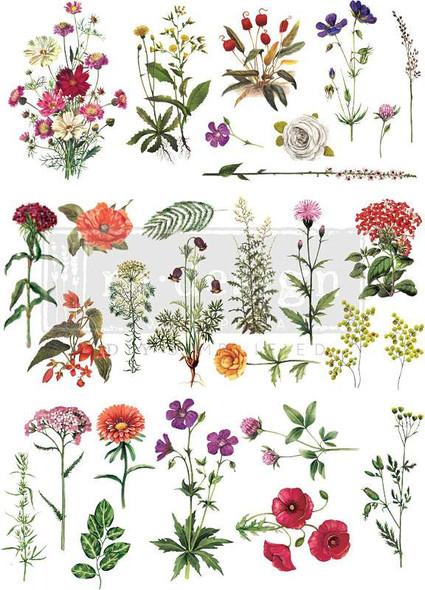 """Prima Re-Design Decor Transfer Floral Collection 22""""X32"""""""