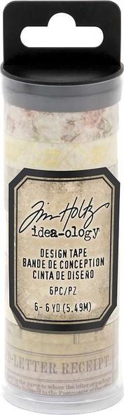 Idea-Ology Design Tape 6/Pkg Remnants