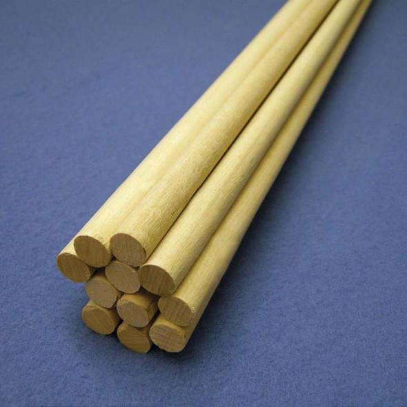 "Birch Hardwood Dowel 36""-1/2"""