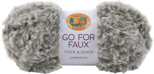 Lion Brand Yarn Go For Faux Thick & Quick Husky
