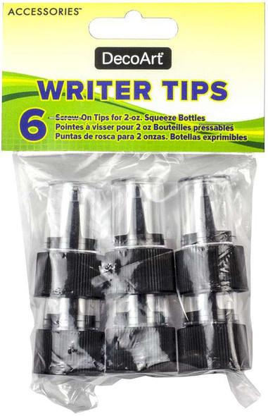 DecoArt Accessories Writer Tips 6/Pkg