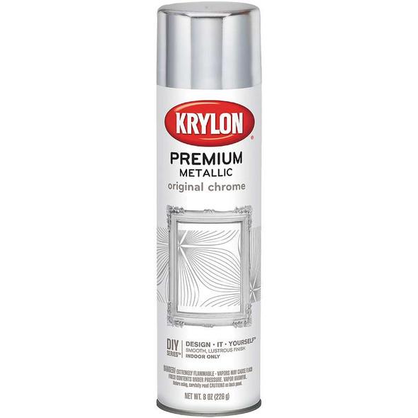 Metallic Spray Paint 8oz Original Chrome