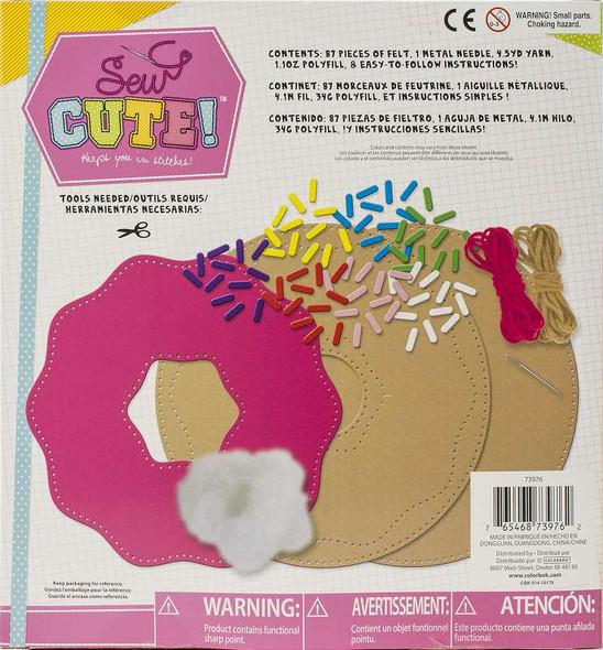 Sew Cute! Felt Pillow Kit Doughnut